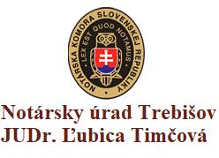 Notársky úrad Trebišov JUDr. Ľubica Timčová
